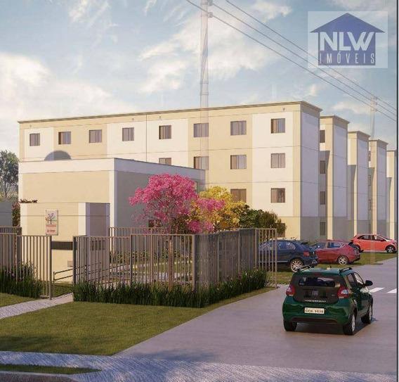 Apartamento Com 2 Dormitórios À Venda, 41 M² Por R$ 150.000 - Parque Santa Rosa - Suzano/sp - Ap1140