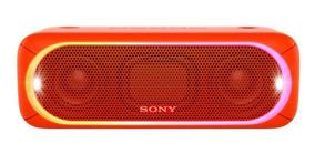 Caixa De Som Bluetooth Sony Xb30 Vermelha Ipx5