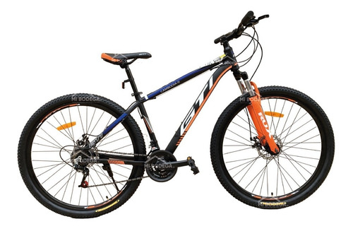 Imagen 1 de 2 de Bicicleta Gti Modelo Cambodia Aro 29 Cuadro Aluminio