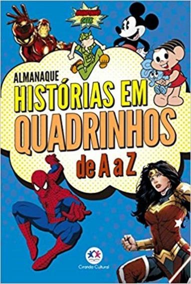 Livro Almanaque De Histórias Em Quadrinhos De A A Z - Vol. 1