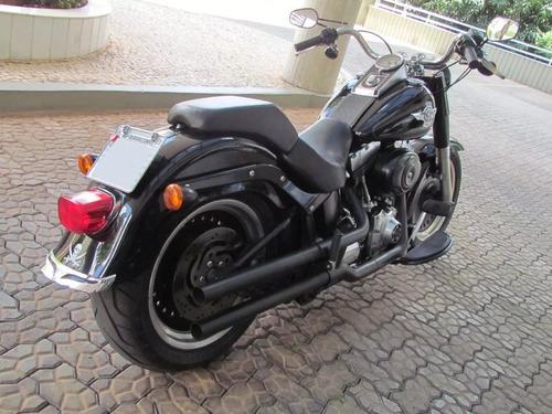 Harley Davidson Fat Boy Special Black