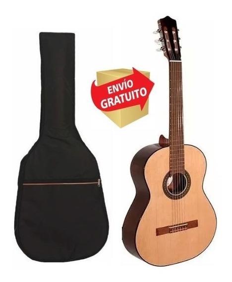 Guitarra Criolla Fonseca 31 Estudio Superior Funda + Envio