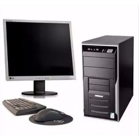 Pc Completo Pc+ Lcd 17 Core 2 Duo 4gb, Hd 250+grav.frete