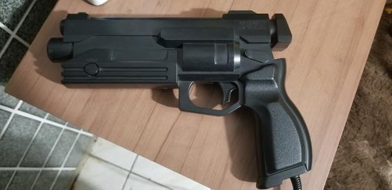 Pistola Original Sega Saturn. Só Funciona Em Tvs De Tubo .
