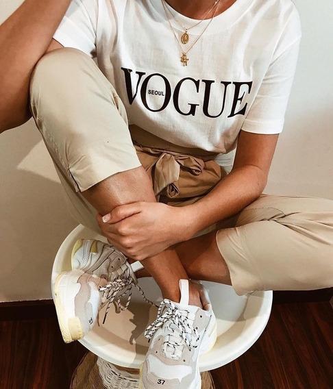 Camiseta Feminina Vogue Tumbrl T-shirts