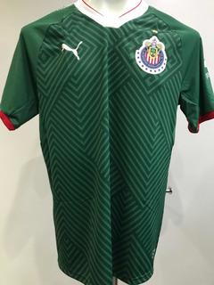Jersey Verde Tercer Uniforme De Chivas Original