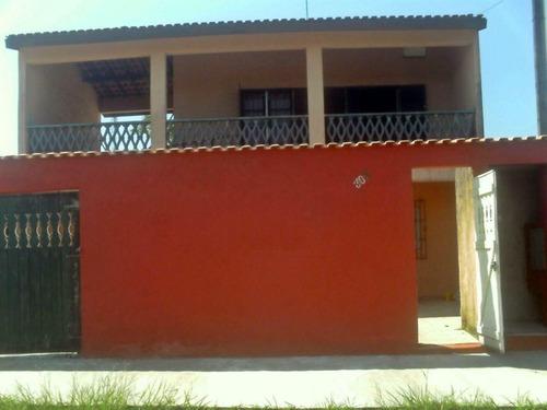 Casa Com 4 Dormitórios À Venda, 250 M² Por R$ 280.000,00 - Balneário Plataforma Ii - Mongaguá/sp - Ca0802