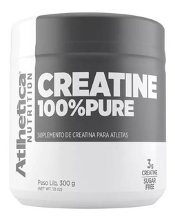 Creatine 100% Pure 300g - Atlhetica