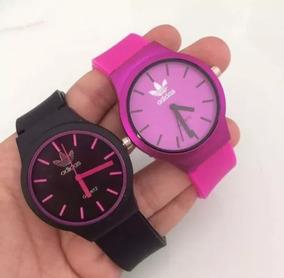 Kit Com 10 Relógios Feminino Silicone Atacado + Caixa Acríli