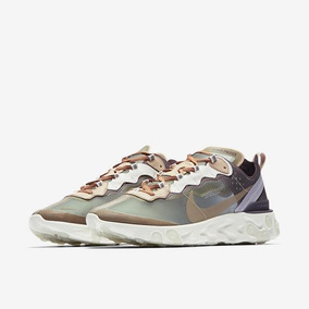 Tenis Nike React Element 87 X Undercover Green Mist Casual