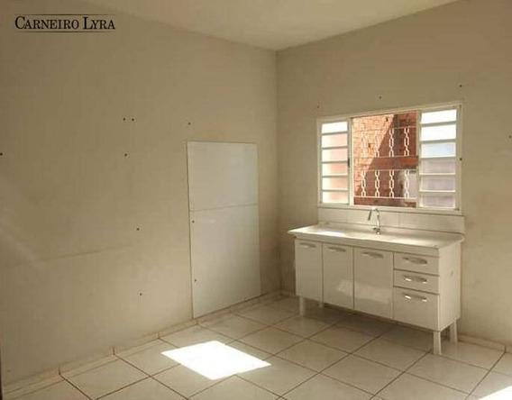 Casa Com 1 Dormitório À Venda, 40 M² Por R$ 200.000,00 - Jardim Juliana - Jaú/sp - Ca0563