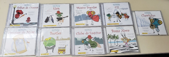 Coletânea Cd Mpbaby Instrumental Infantil Canção Ninar
