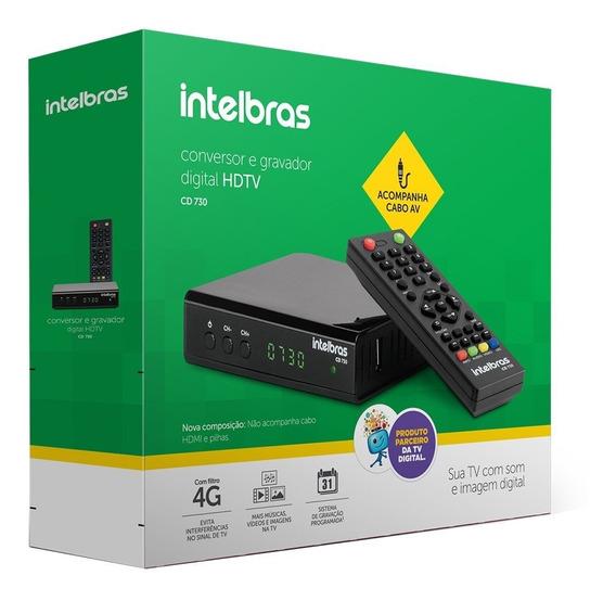 Gravador E Conversor Digital Para Tv Cd730 - Intelbrás...