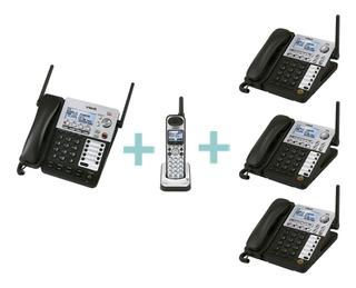 Conmutador Inalámbrico Vtech, Operadora Y Cuatro Extensiones