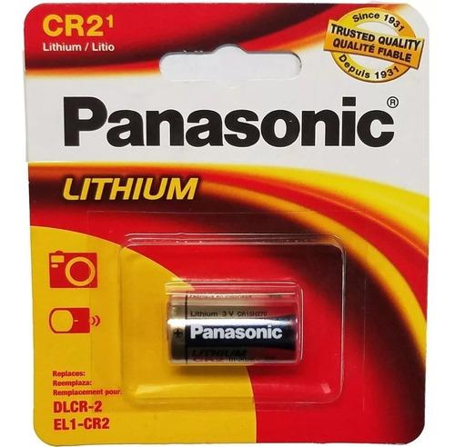 2 Pila Bateria Cr2 Y Cr123 Panasonic Litio 3v
