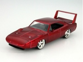 Dodge Charger Daytona 1969 Fast And Furious 6 2013 1:24 Jada