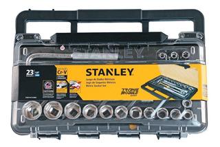 Stanley Juego Tubos 23 Piezas Excel. Calidad Enc. 1/2 Milim