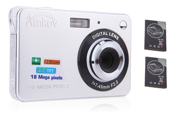 Compact Hd Câmera Digital Filmadora De Vídeo 18mp 2.7