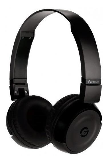 Audífono Getttech Tipo Diadema Con Micrófono Negro Synergy G