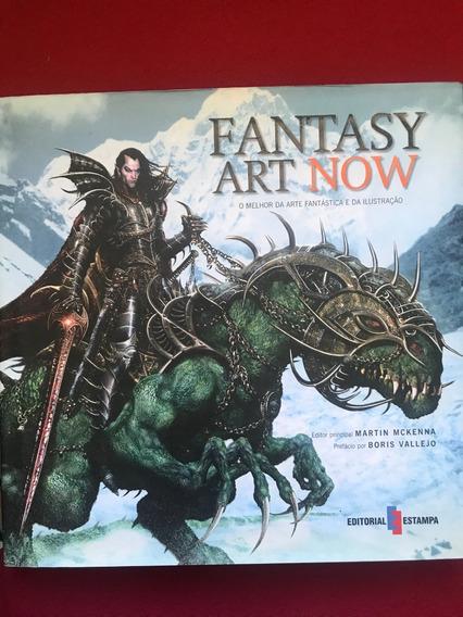 Livro - Fantasy Art Now - Martin Mckenna - Capa Dura