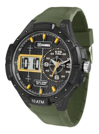 Relógio Masculino X-games Xmppa214 Militar Envio Imediato