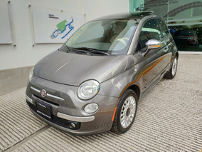 Fiat500 Lounge Dualtronic Qc Piel At*venta En Agencia Bmw*