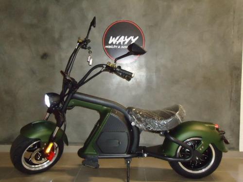 Imagem 1 de 5 de Moto Elétrica 2000w Wayy M8