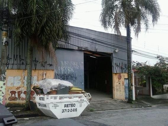 Galpão Para Venda Em São Paulo, Jaguaré, 1 Dormitório, 1 Banheiro, 1 Vaga - 8169