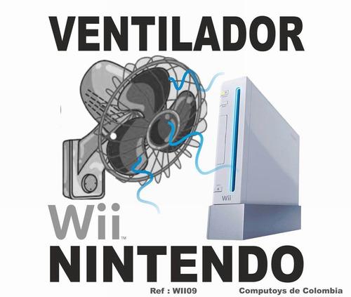 Imagen 1 de 6 de Zwii09 Disipador De Calor Para Nintendo Wii Usb Computoys