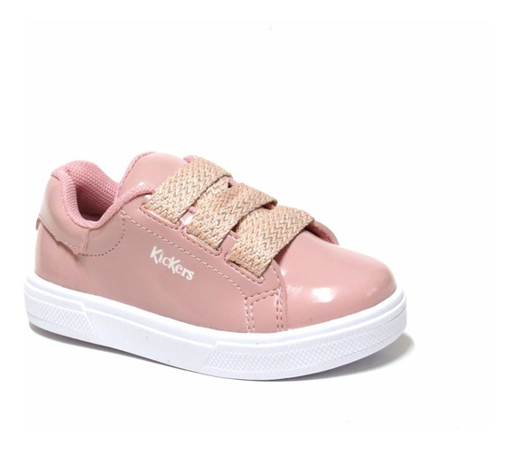 Zapatillas Sneakers Charol Cordon Kickers 21/36 Art Daria