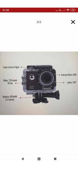 Câmera Filmadora Tomate 4k