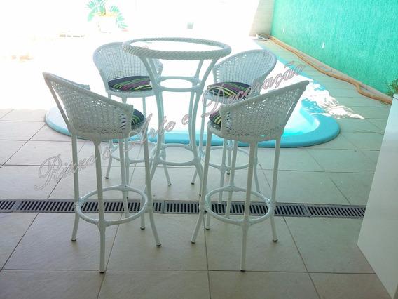 Conjunto Mesa E Cadeira Bistrô Hotel, Bar, Espaço Gourmet