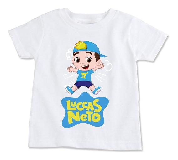 Camiseta Infantil Luccas Neto