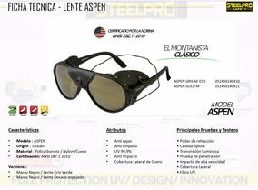 Lentes Aspen Gris - Lentes Aspen Gold Y Anteojo Turbine