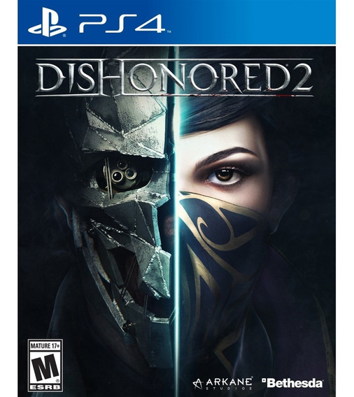 Dishonored 2 Ps4 Mídia Física Novo Lacrado Original