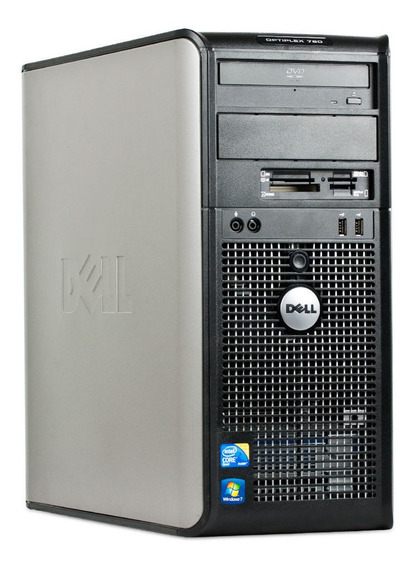 Desktop Dell 780 Core 2 Duo 4gb 160gb