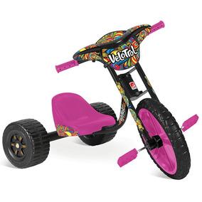 Triciclo Velotrol Derrapador Infantil Feminino Bandeirante