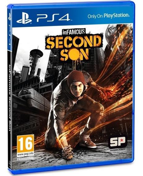 Game Infamous Second Son Ps4 Midia Fisica Cd Lacrado Dublado