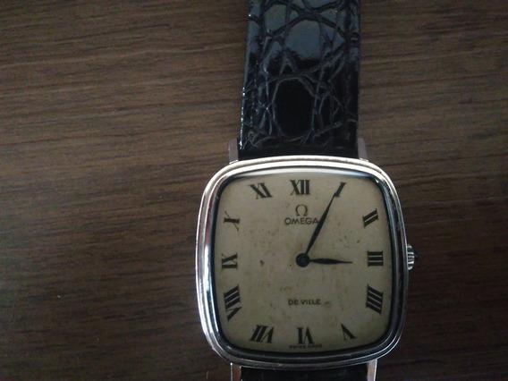 Relógio Ômega Original - Item De Colecionador - Sem Bateria