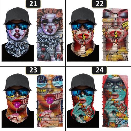 Agradable a la Piel Bandanas faciales para Navidad en Interiores y Exteriores c/ómoda 50piezas Ma/_scarilla con Estampado de Camuflaje para Adulto NONGMIN1117 Ajustable