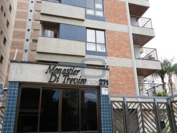 Apartamento Com 3 Dormitórios Para Alugar, 125 M² Por R$ 2.500/mês - Cambuí - Campinas/sp - Ap0784
