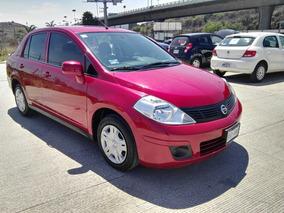 Nissan Tiida Sense 1.8 2016 25% De Enganche Recibimos Tu Aut