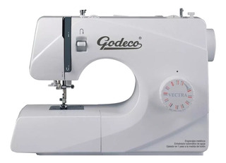 Máquina de coser Godeco Vectra blanca 220V