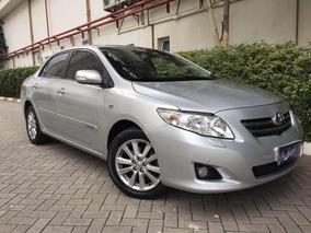 Toyota Corolla 1.8 16v Se-g Flex Aut - 2010 - Top De Linha
