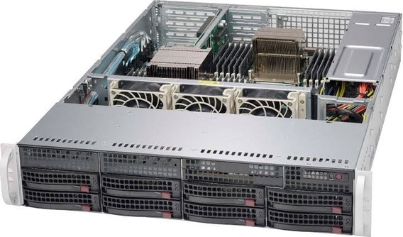 Storage Nas Supermicro 8 Baias Xeon Quad Core 16gb Ddr4