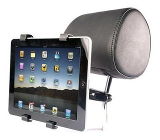 Soporte Auto Tablet Dvd iPad Ajustable Hasta 10.1 Pulgadas