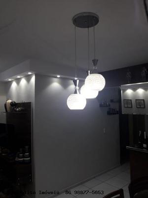 Apartamento Para Venda Em Teresina, Campestre, 3 Dormitórios, 2 Suítes, 3 Banheiros, 1 Vaga - Girassol Residence