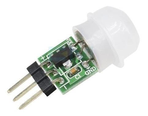 Mini Sensor De Movimento Pir Am312 Para Arduino
