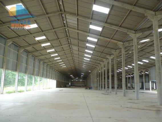 Galpão Industrial Para Locação, Centro, Louveira. - Ga0102