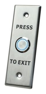 Botón De Salida Con Aro Iluminado/ Ip65 / Access40